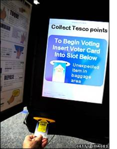 Hi-tech voting